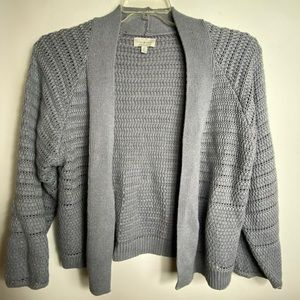 lucky brand Womens Cardigan Sz Sp Gray Color